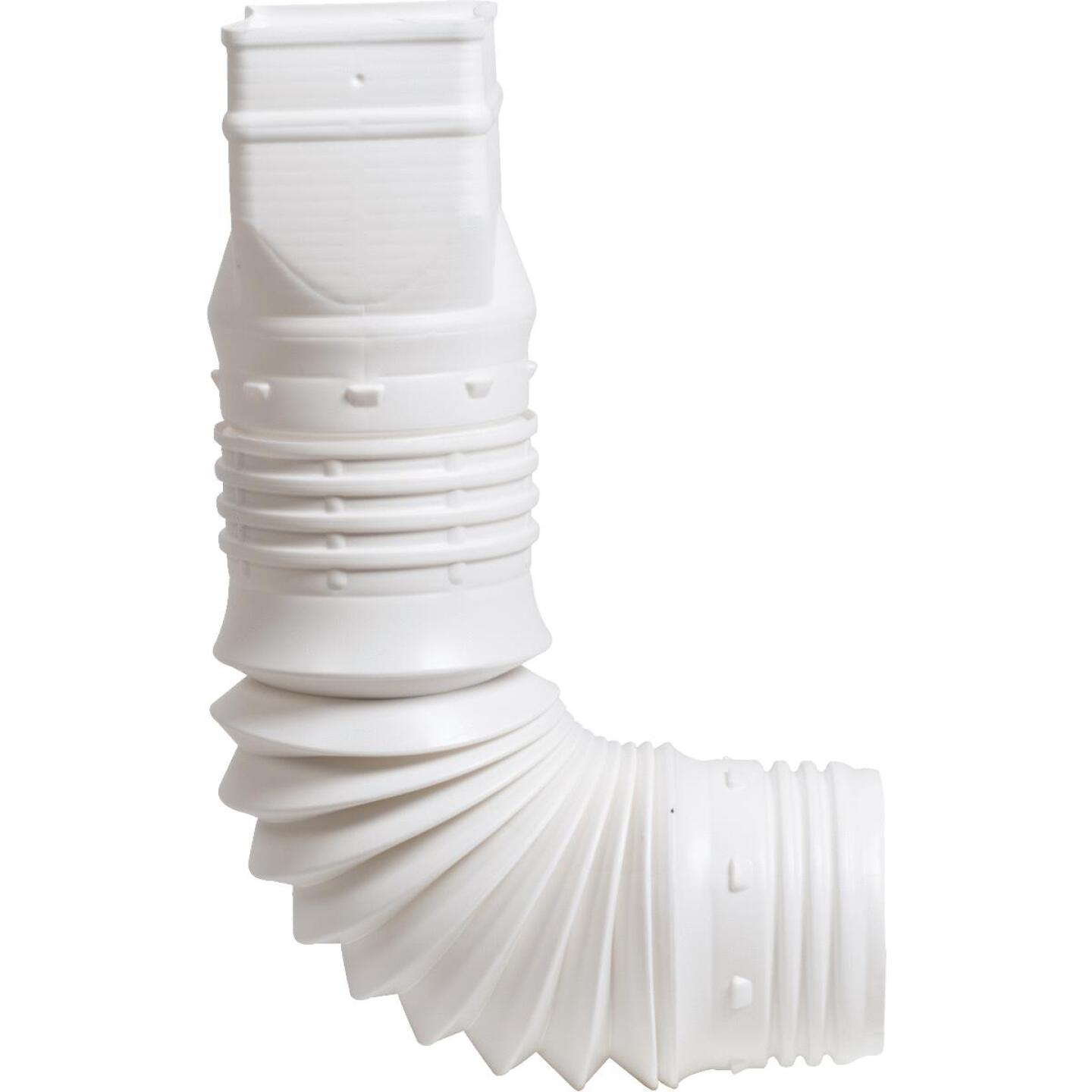 Amerimax Flex-A-Spout 2 In. X 3 In. X 3 In. Or 4 In. Downspout Adapter Image 1
