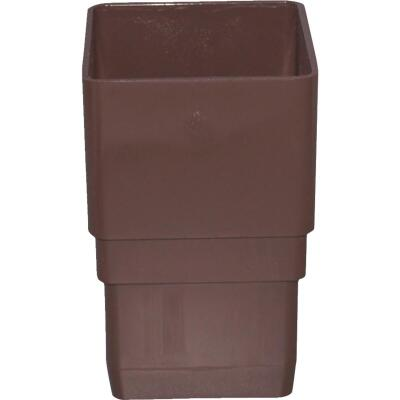 Raingo Brown Vinyl Downspout Coupler