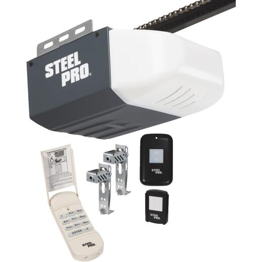 Steel Pro 1/2 HP Chain Drive Garage Door Opener