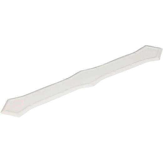Spectra Metals White Aluminum Pipe Downspout Band