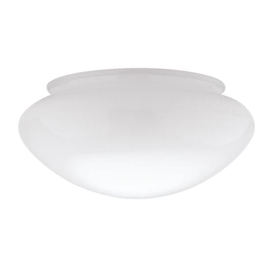 Westinghouse White 3-3/4 In. x 7-1/2 In. Mushroom Ceiling Shade