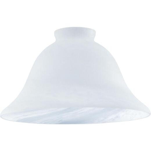 Westinghouse 4-3/8 In. White Honey Swirl Glass Shade