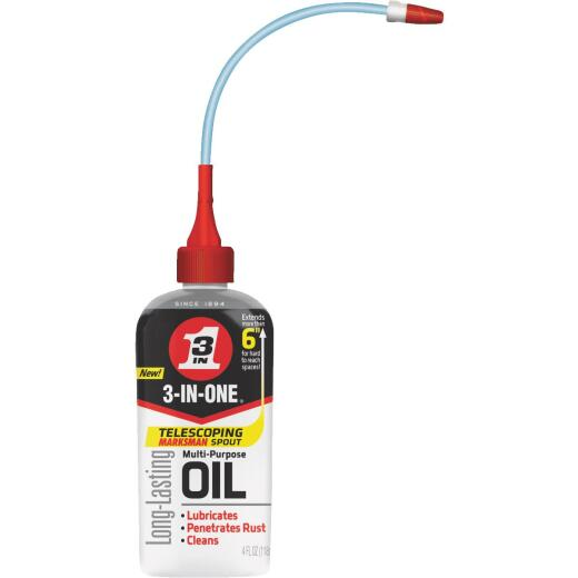 3-IN-ONE 4 Oz. Drip Can Multi-Purpose Lubricant with Telescoping Spout