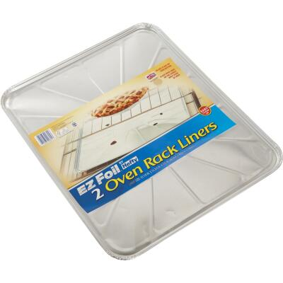 EZ Foil 15.75 In. x 18.25 In. Oven Rack Liner (2-Count)