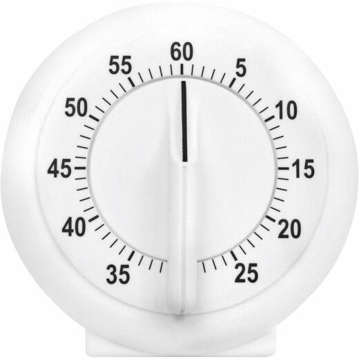 Acurite 60-Minute White Long Ring Timer